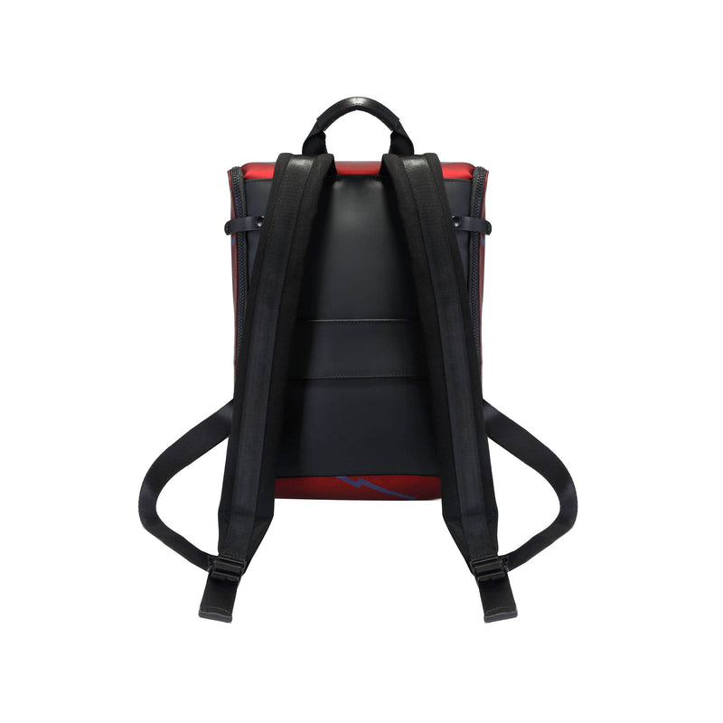 Captain Zip Around Backpack (S) (Leather)
