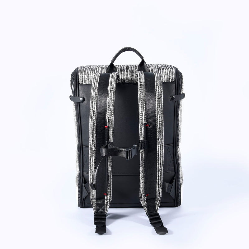 CAPTAIN ZIP AROUND BACKPACK (M) (LEATHER)