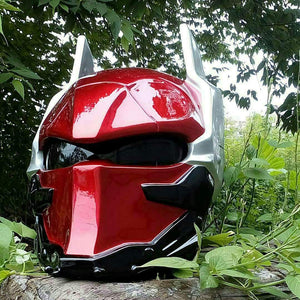 Custom Red Hood Batman Arkham Knight Real Motorcycle Helmet