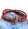 Hope Leather Bracelet