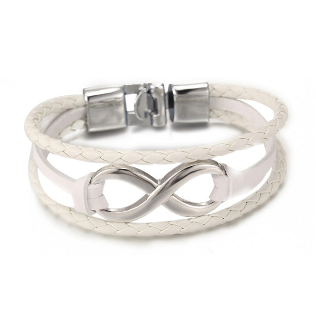 bangle bracelet item sisters lovers bangles infinity rope adjustable sonsuzluk personal bracelets women jewelry men couple wrap braided