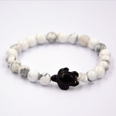 Iron gallstone Lava Stone Beads Sea turtle Braiding Bracelets