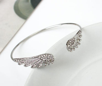 Angel Wings Bracelet Adjustable Woman Riding Bike Jewelry