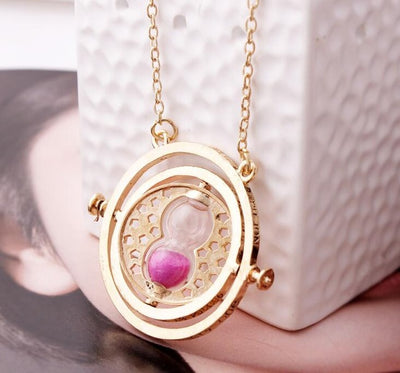 Harry time turner Potter necklace