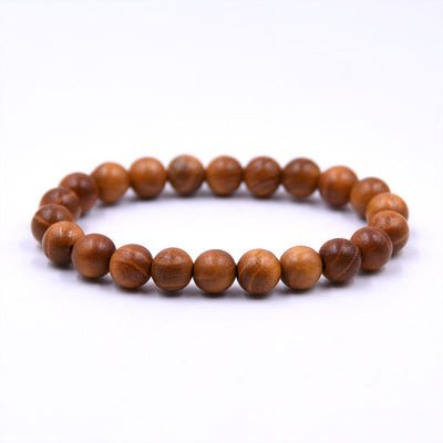 Buddhist Prayerartificial Wood Beads Buddha Bracelet
