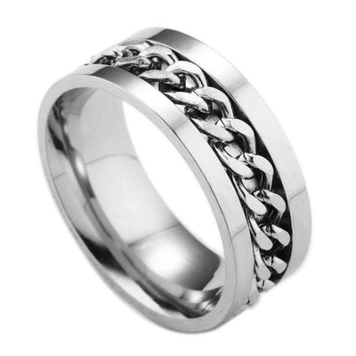 Chain Rotatable Ring