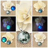 Glass Luminous Star Series Planet Necklace