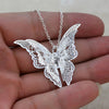 Chain Women Lovely Butterfly Pendant  Chain Necklace