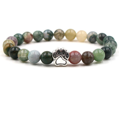 Colourful Natural Stone Beads Bracelet