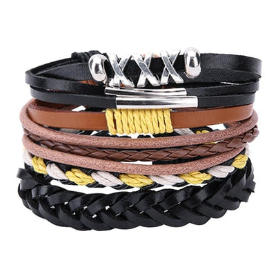Adjustable Multilayer Bead Bracelet