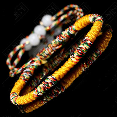 Buddhist Knots Rope Bracelet