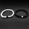 2Pcs/Set Couples Distance Bracelet