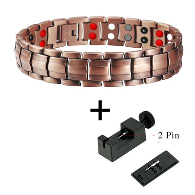 Double Row 4 IN 1 Bio Elements Energy Magnetic Bracelet
