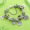 Green Tree of Life Charm Pandora Bracelet