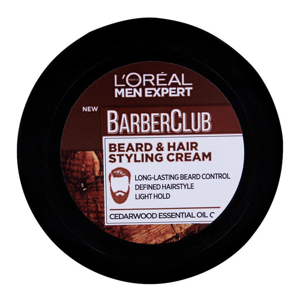 L'Oreal Paris Men Expert Barber Club Beard & Hair Styling Cream 75Ml