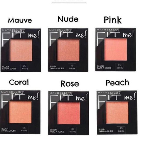 Maybelline New York Fit Me Mono Blush Swatch