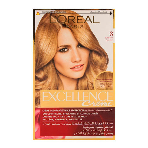 Excellence Creme 8 Light Blonde