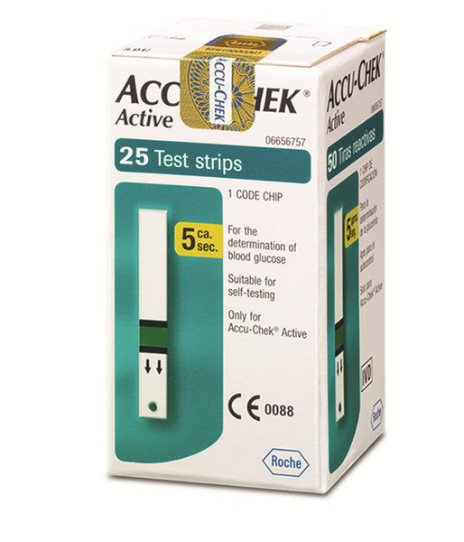 Accu-Chek Active – 25 Test Strip
