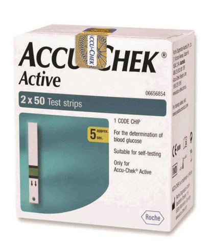 Accu-Chek Active – 2 X 50 Test Strip