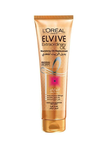L'Oreal Paris Elvive Extraordinary Oil Nourishing Oil Replacement Hair Cream, 125ml