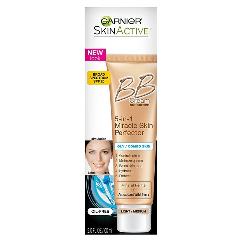 Garnier SkinActive 5-in-1 Skin Perfector BB Cream Oil-Free - Light-skin-GARNIER-digimall.pk