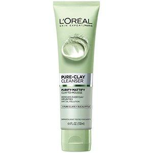 Clay Purifies Eucalyptus Face Wash 150Ml Green-Clay-Loreal Paris-GREEN-digimall.pk