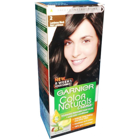 COLOR NATURALS 2 LUMINOUS BLACK-Color Naturals-GARNIER-black-digimall.pk