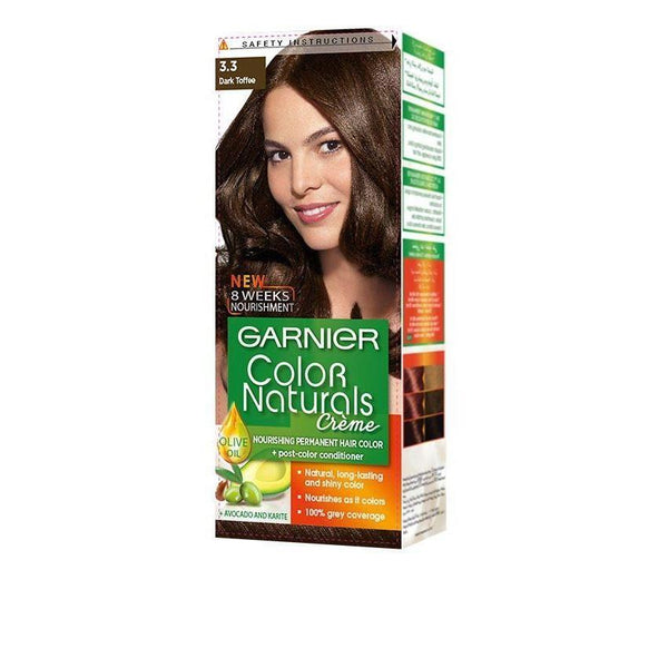 COLOR NATURALS 3.3 DARK TOFFEE-Color Naturals-GARNIER-dark toffee-digimall.pk