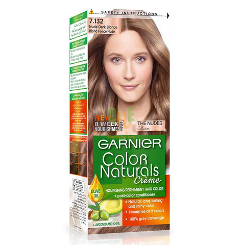 COLOR NATURALS 7.132 NUDE DARK BROWN-Color Naturals-GARNIER-dark brown-digimall.pk