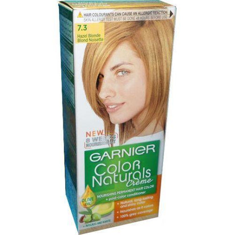 COLOR NATURALS 7.3 HAZEL BLONDE-Color Naturals-GARNIER-hazel blonde-digimall.pk
