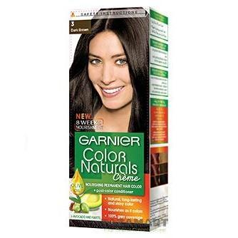 COLOR NATURALS PAK 3 DARK BROWN-Color Naturals-GARNIER-dark brown-digimall.pk