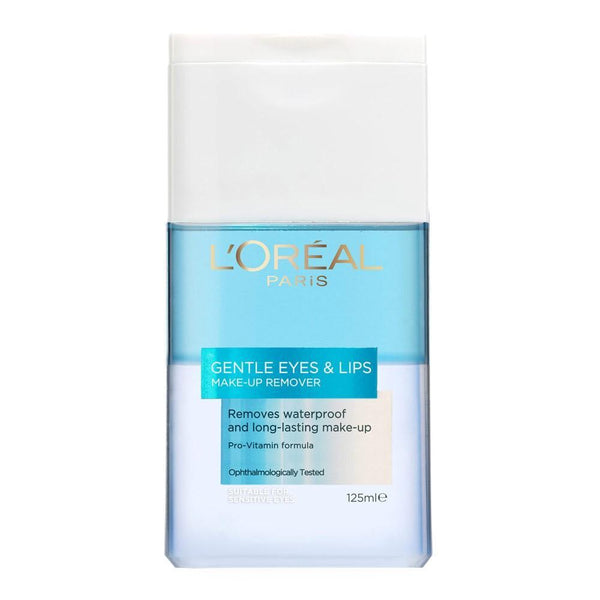 Dermo Expertise Make-Up Remover Eye & Lips 125Ml-DE-OTHERS-Loreal Paris-MAKEUP REMOVER-digimall.pk