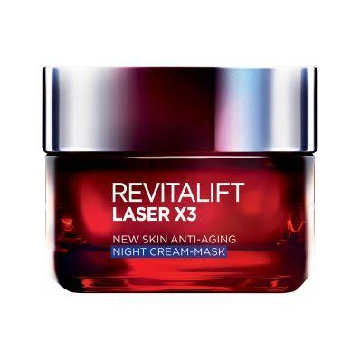 Dermo Expertise Revitalift Laser X3 Night Cream 50Ml-DE-OTHERS-Loreal Paris-NIGHT CREAM x3-digimall.pk