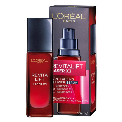 Dermo Expertise Revitalift Laser X3 Serum 30Ml-DE-OTHERS-Loreal Paris-SERUM-digimall.pk
