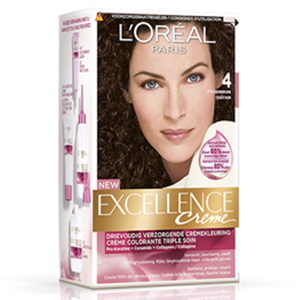 Excellence Creme 4 Brown Chatain-Hair Dye-Loreal Paris-Chatin-digimall.pk