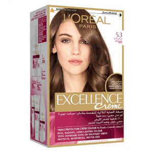 Excellence Creme 5.3 Light Golden Brown