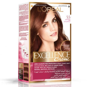Excellence Creme 5.5 Light Mahogany Brown