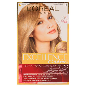 Excellence Creme 9.1 Very Light Ash Blonde