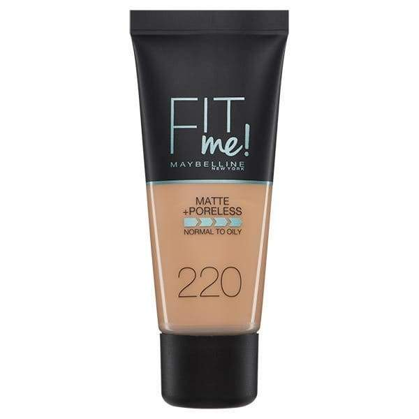 Fit Me Matte Liquid Foundation - Swatch-MNY FACE-MAYBELLINE-natural beige-220-digimall.pk