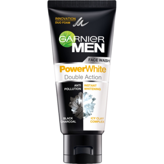 Garnier Men PowerWhite Face Wash 50ML-skin-GARNIER-digimall.pk
