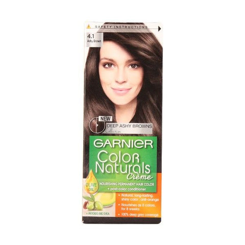 Garnier Color Naturals - 4.1 Ashy Brown-Color Naturals-GARNIER-digimall.pk