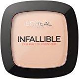 Infallible Matte Powder 24H - Swatch-LOMO-FACE-LOREAL-MAKEUP-warm vanilla-digimall.pk