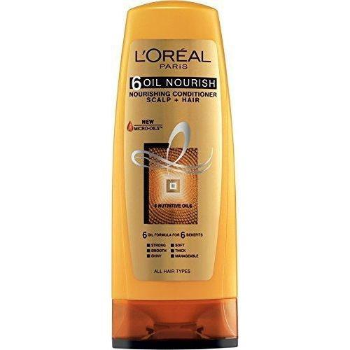 L'Oreal Paris 6 Oil Nourish Conditioner 175Ml (Pk)-LPARIS-Loreal Paris-NOUR CONDITIONER-digimall.pk