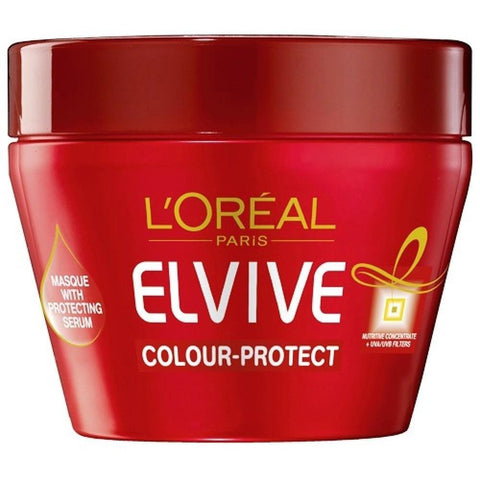 L'Oreal Paris Elvive Color Protect Mask 300Ml-LPARIS-Loreal Paris-COLOR PROTECT-digimall.pk