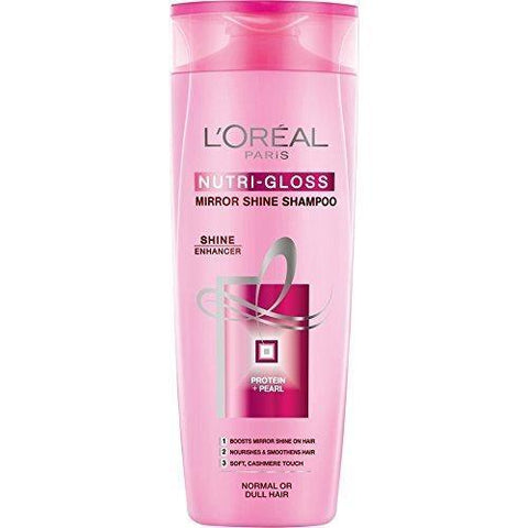 L'Oreal Paris Nutri Gloss Shampoo 360Ml (Pk)-LPARIS-Loreal Paris-NUTRI GLOSS-digimall.pk