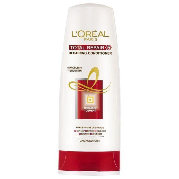 L'Oreal Paris Total Repair 5 Conditioner 175Ml (Pk)-LPARIS-Loreal Paris-TOTAL REPAIR-digimall.pk