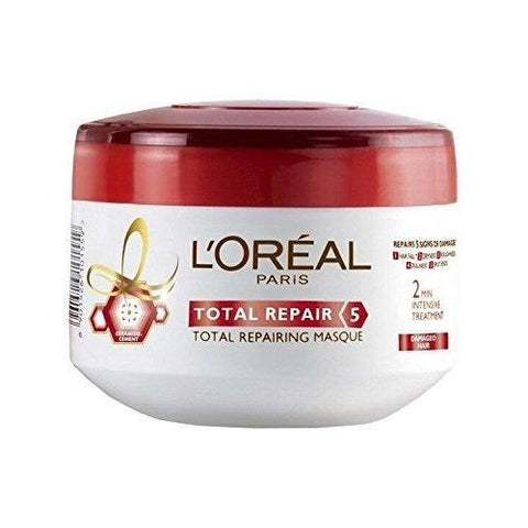 L'Oreal Paris Total Repair 5 Mask 200Ml-LPARIS-Loreal Paris-TOTAL REPAIR 5-digimall.pk