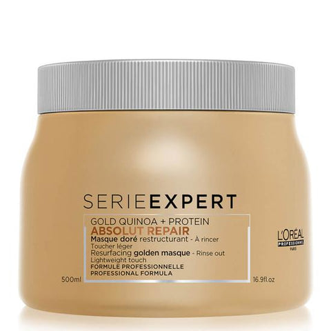 L'Oreal Professionnel Serie Expert Absolut Repair Lipidium Gold Mask 500Ml Va16