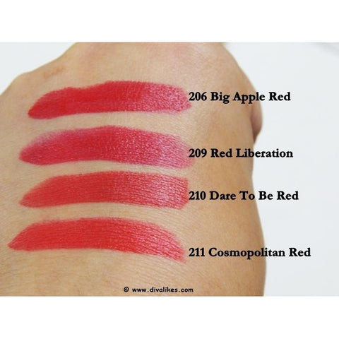 Color Show Big Apple Reds (Matte) - Swatch