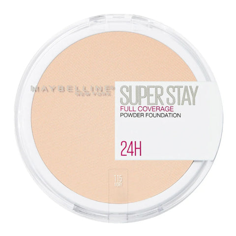 Maybelline Superstay Full Coverage Powder Foundation - Swatch